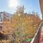 Balkon mit natürlichem Licht