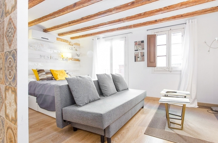 Moderne studio appartement in Barcelona