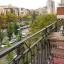 Sicht des Balkons