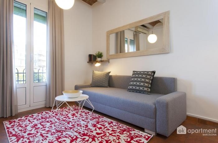 Vista completa del soggiorno
