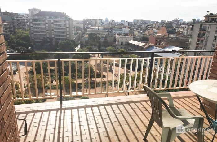 Балкон с видом