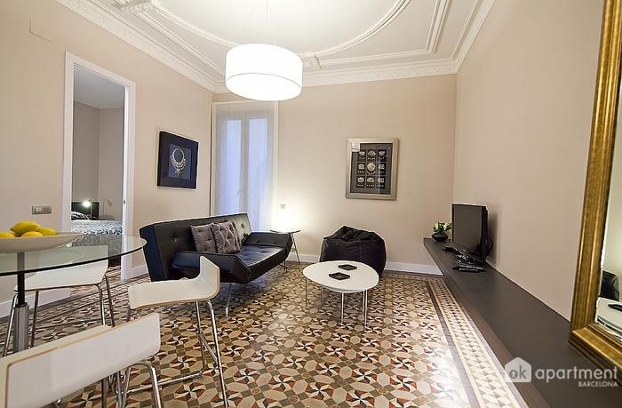 Vista completa del salón