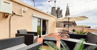Sagrada Familia Terrace