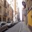 Bygning og gade