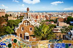 View of Barcelona during a weekend break