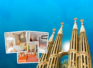 Vind en weekend for 2 i Barcelona